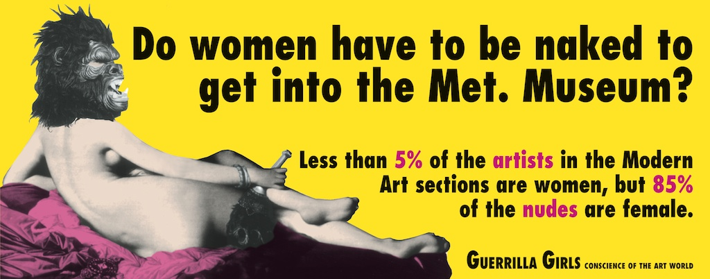 Guerilla Girls Feminism in Art 003