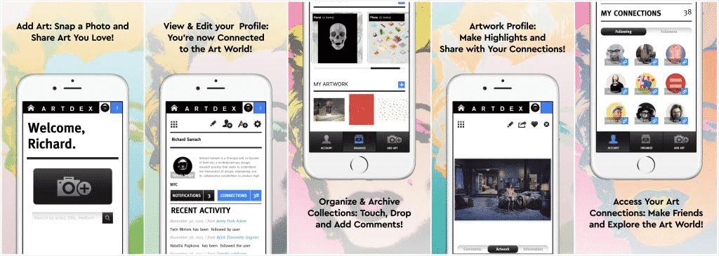 ARTDEX app