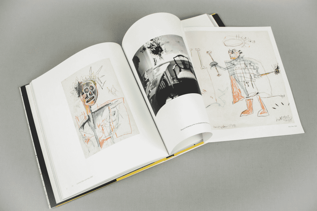 Jean-Michel Basquiat Catalogue Printed for Gagosian Gallery art catalogue
