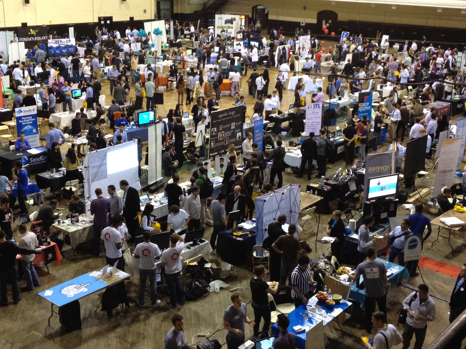 NY Tech Day 2012. Image courtesy of the Forbe's article of 2012 by Kevin Ready @keready