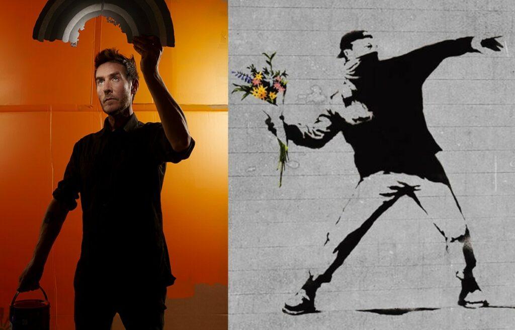 Banksy-Unmasked Love