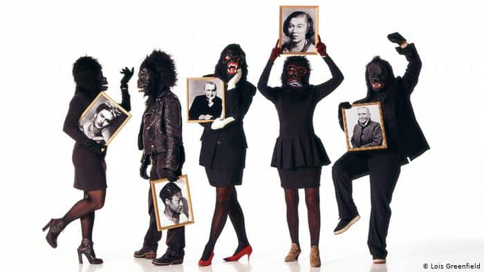 The New York activists, the Guerrilla Girls' fight against discrimination in the art world. Image credit: Lois Greenfeld | Image source: dw.com