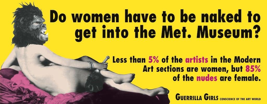Guerilla Girls Feminism in Art 003