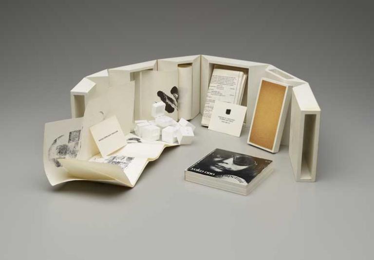 Everson Museum Catalogue Box (1971-94), by Yoko Ono © Yoko Ono (image courtesy of www.apollo- magazine.com)