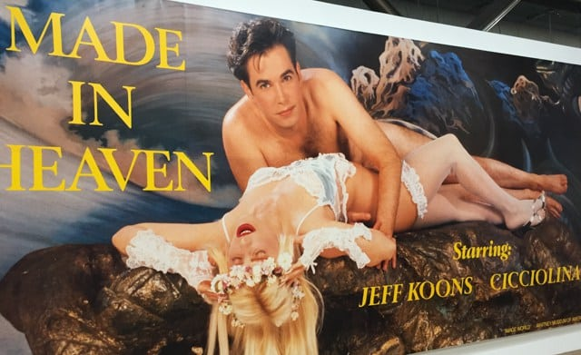 Made in Heaven (1989) is just one in a series of pornographic images of Jeff Koons and his ex-wife, Ilona Staller (Image courtesy of Modern Art at Centre Pompidou, Paris at Two and Fro)