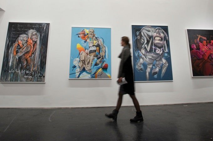 An exhibition in the Urban Nation Museum For Contemporary Art. Photo: DPA | Image source: thelocal.de