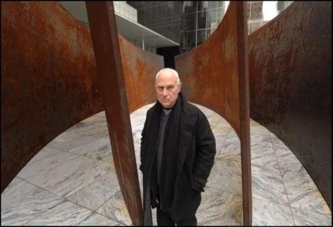 Greatest Minimalism: Richard Serra and Giant COR-TEN Steel