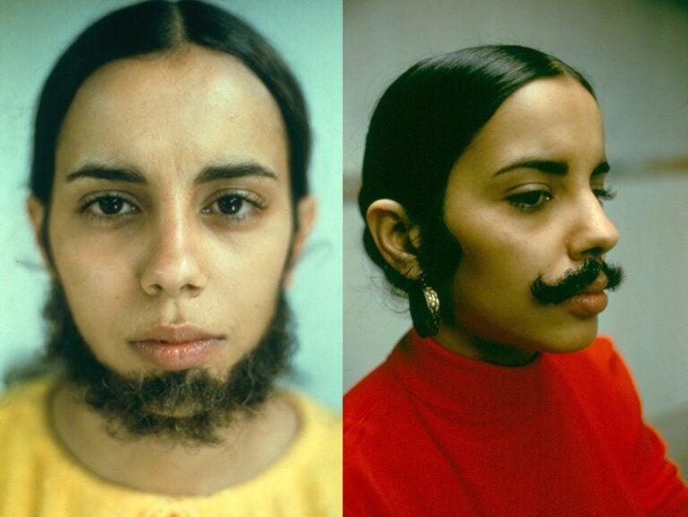 facial-hair-ana-mendieta