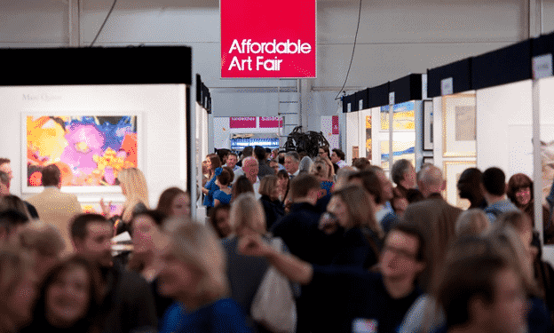 The Affordable Art Fair in Battersea Park, London