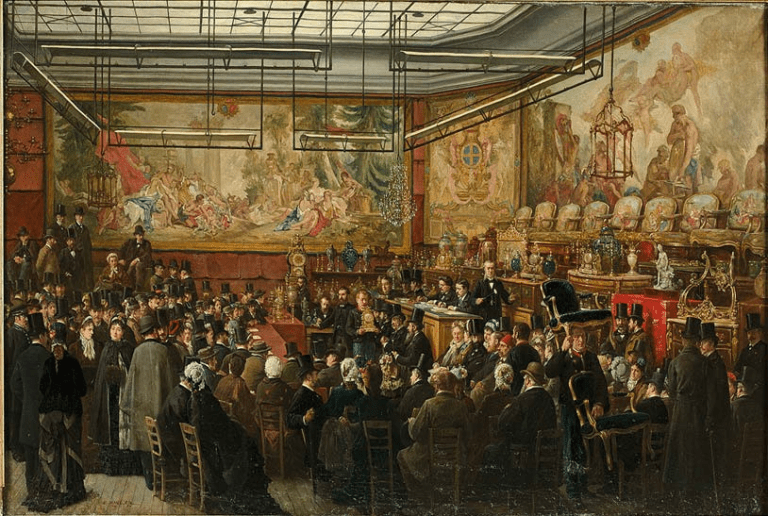History of Auctions & Auction Houses
