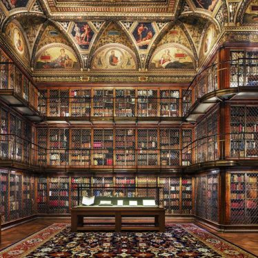 Morgan Library II - Limited Edition 1 of 10, photography by Reinhard Görner | Image source: saatchiart.com